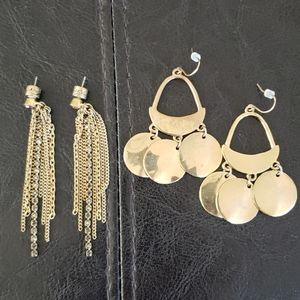 Kenneth cole new York set of 2 earrings